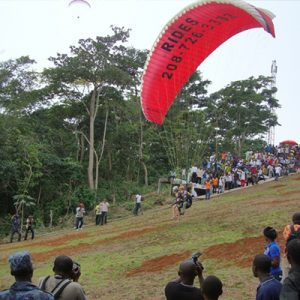 paragliding in ghana
